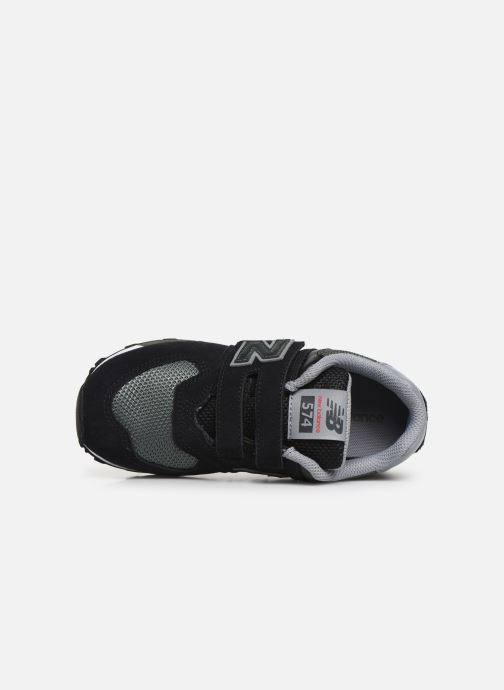 Trainers New Balance YV574 Black view from the left