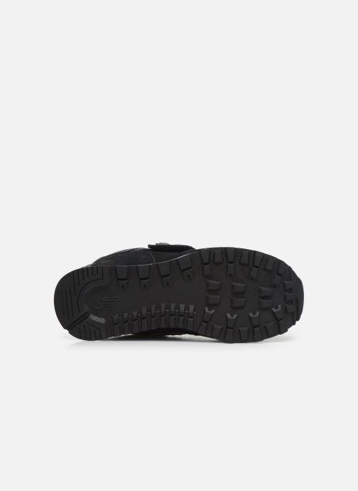 Sneakers New Balance YV574 Nero immagine dall'alto