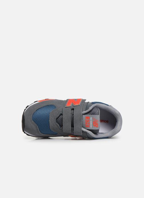 Sneaker New Balance YV574 grün ansicht von links