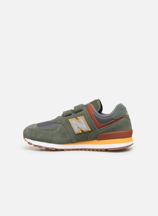 Trainers New Balance YV574 Green front view