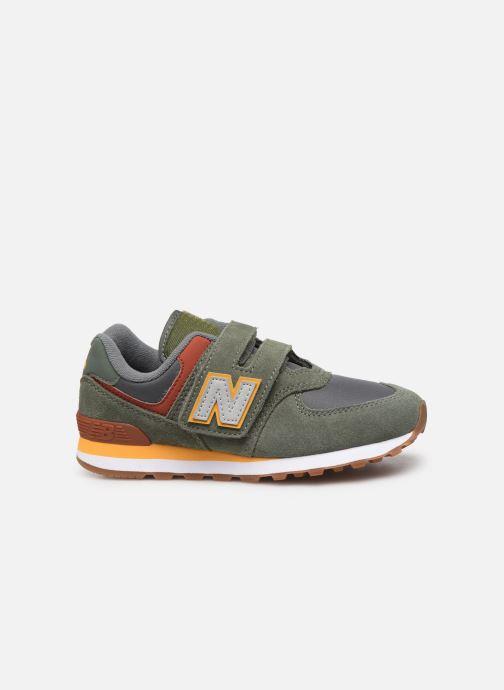 Sneaker New Balance YV574 grün ansicht von hinten