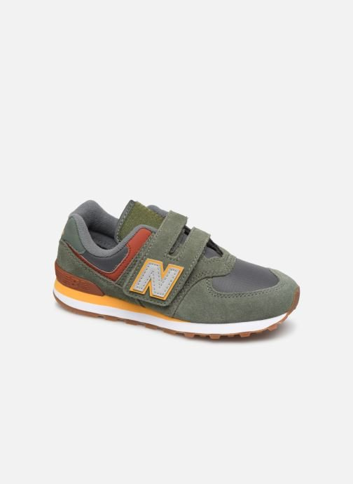 Trainers New Balance YV574 Green detailed view/ Pair view