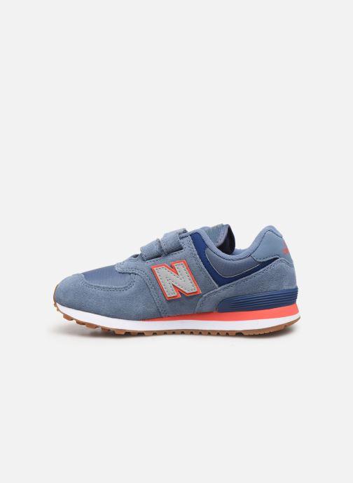 Sneakers New Balance YV574 Blå se forfra