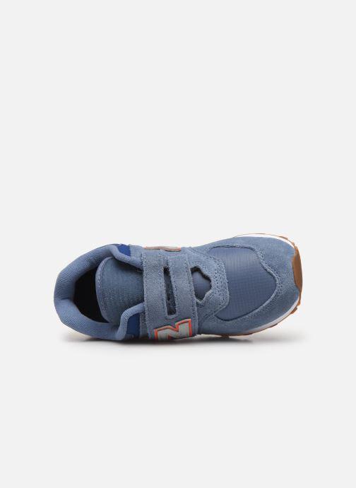 Sneakers New Balance YV574 Blå se fra venstre
