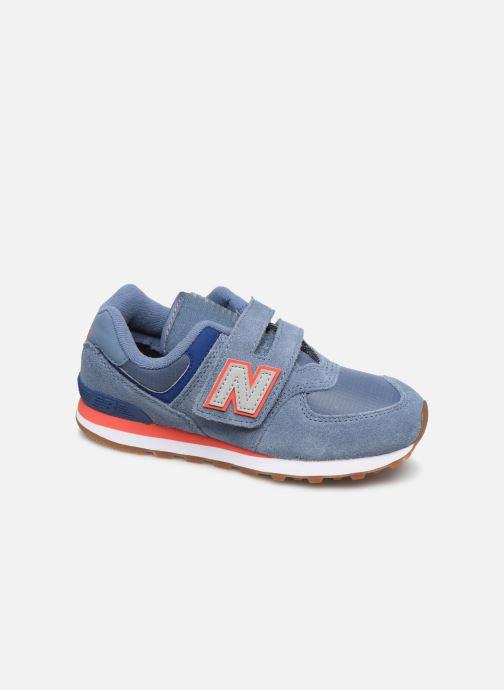 Sneakers New Balance YV574 Blå detaljeret billede af skoene