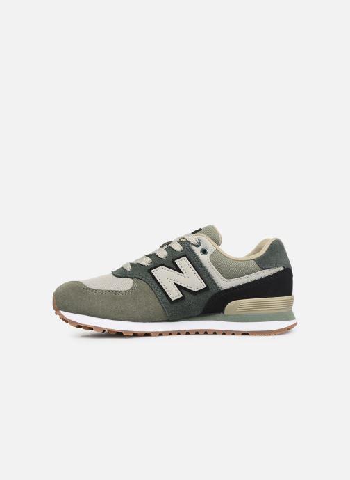 Sneakers New Balance PC574 Groen voorkant