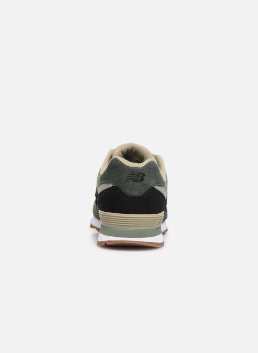 Baskets New Balance PC574 Vert vue droite