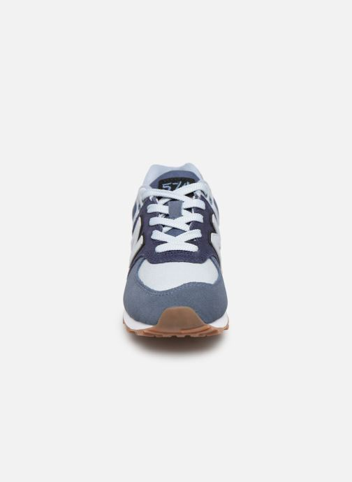 Trainers New Balance PC574 Blue model view