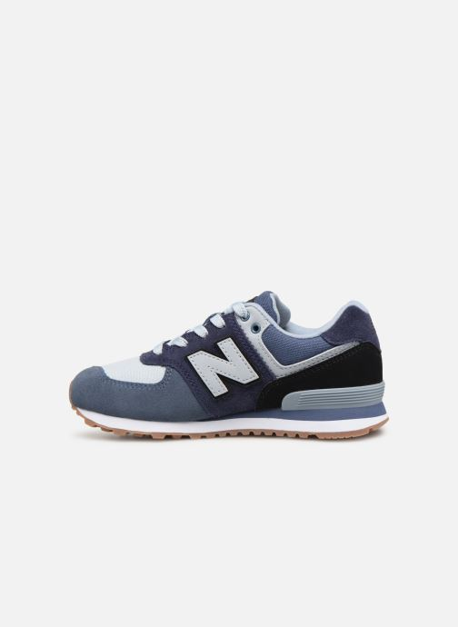 Trainers New Balance PC574 Blue front view
