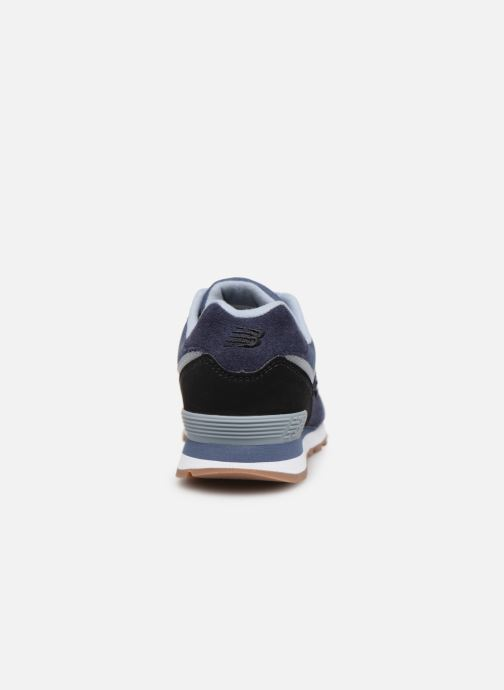 Trainers New Balance PC574 Blue view from the right