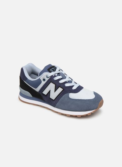 Trainers New Balance PC574 Blue detailed view/ Pair view