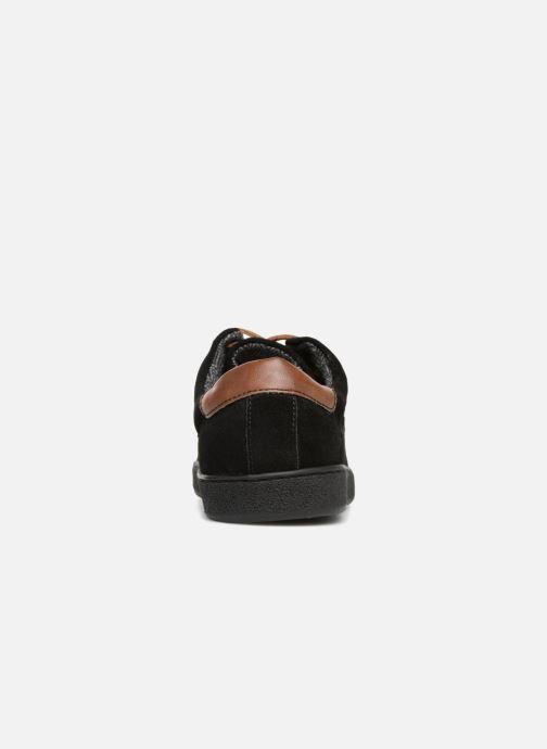 Baskets I Love Shoes KEPHANE Leather Noir vue droite