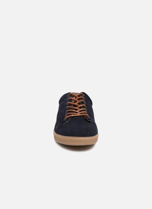 Baskets I Love Shoes KEPHANE Leather Bleu vue portées chaussures