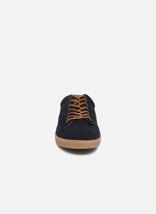 Baskets I Love Shoes KEPHANE Leather Bleu vue portées chaussures