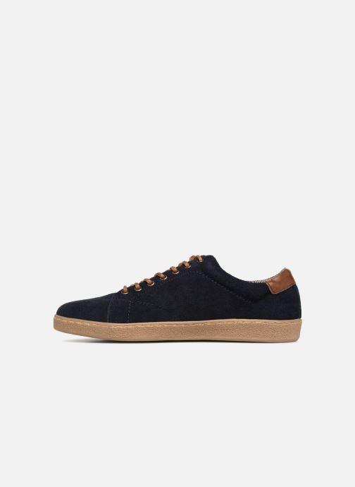 Baskets I Love Shoes KEPHANE Leather Bleu vue face