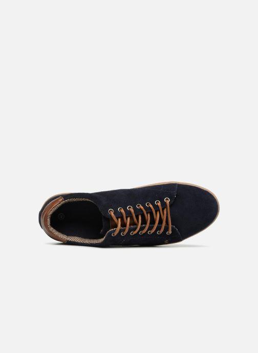 Baskets I Love Shoes KEPHANE Leather Bleu vue gauche