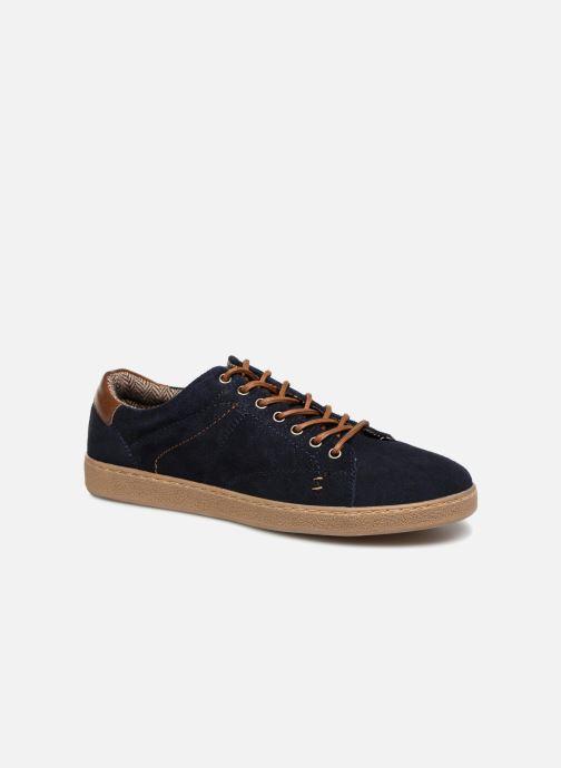 Baskets I Love Shoes KEPHANE Leather Bleu vue détail/paire