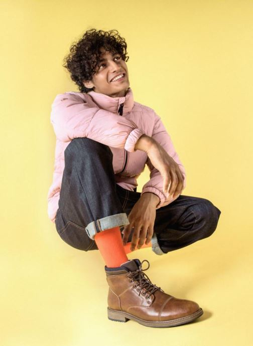 Bottines et boots I Love Shoes KEFORE Marron vue bas / vue portée sac