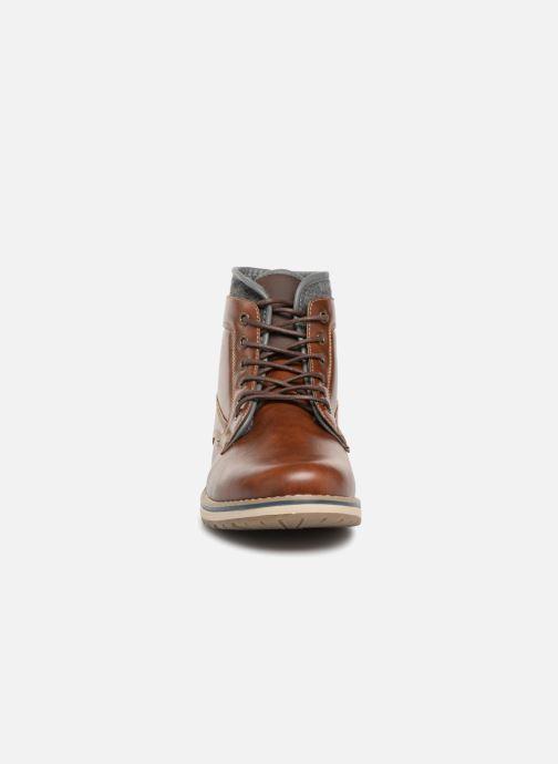 Stiefeletten & Boots I Love Shoes KEPOLI braun schuhe getragen