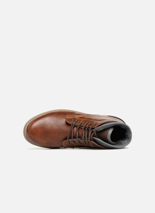 Botines  I Love Shoes KEPOLI Marrón vista lateral izquierda