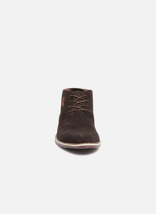 Boots en enkellaarsjes I Love Shoes KERONI Leather Bruin model