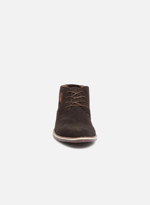 Stivaletti e tronchetti I Love Shoes KERONI Leather Marrone modello indossato