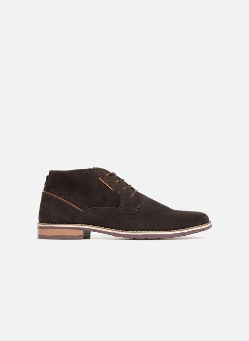 Boots en enkellaarsjes I Love Shoes KERONI Leather Bruin achterkant