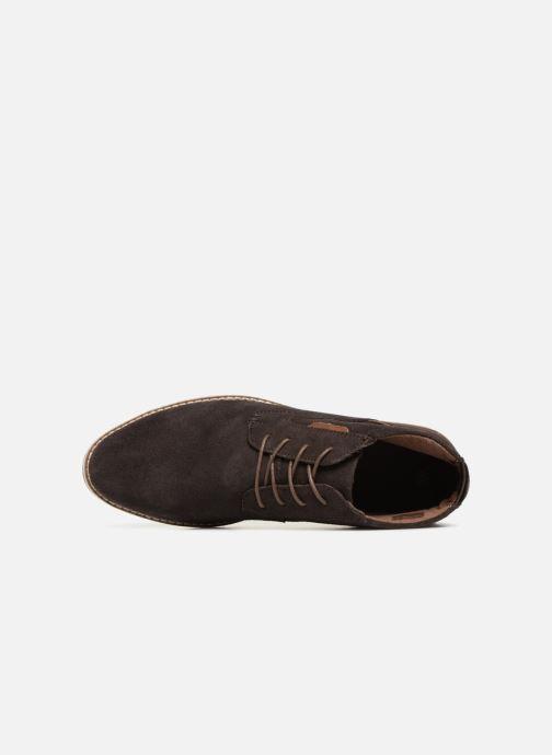 Boots en enkellaarsjes I Love Shoes KERONI Leather Bruin links
