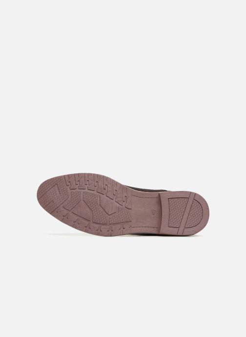 Boots en enkellaarsjes I Love Shoes KERONI Leather Bruin boven