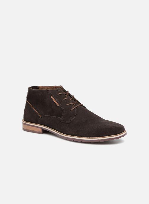 Boots en enkellaarsjes I Love Shoes KERONI Leather Bruin detail