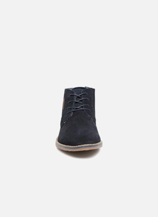 Stiefeletten & Boots I Love Shoes KERONI Leather blau schuhe getragen