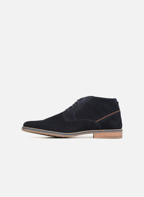 Boots en enkellaarsjes I Love Shoes KERONI Leather Blauw voorkant