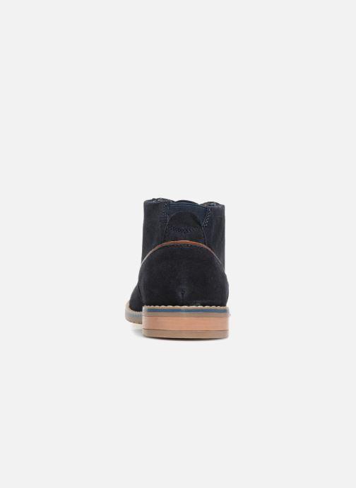 Boots en enkellaarsjes I Love Shoes KERONI Leather Blauw rechts