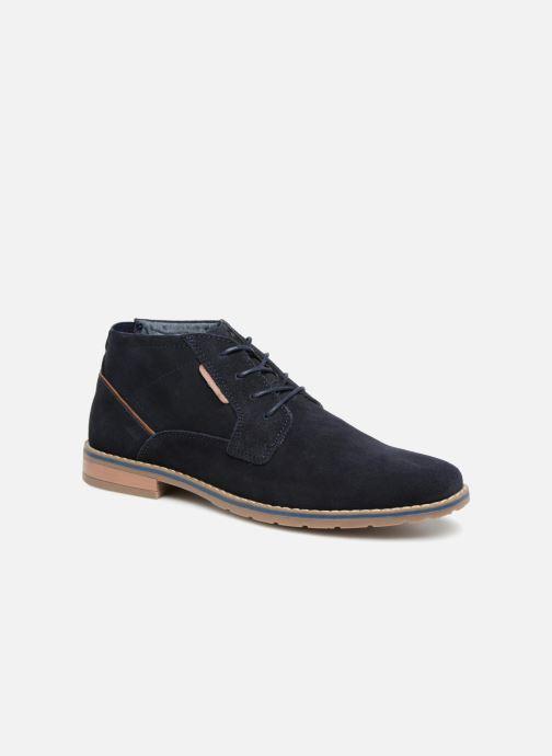 Boots en enkellaarsjes I Love Shoes KERONI Leather Blauw detail