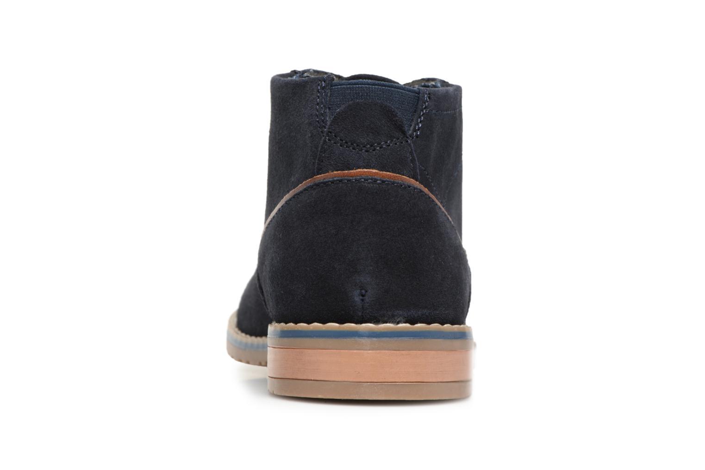 Bottines et boots I Love Shoes KERONI Leather Bleu vue droite