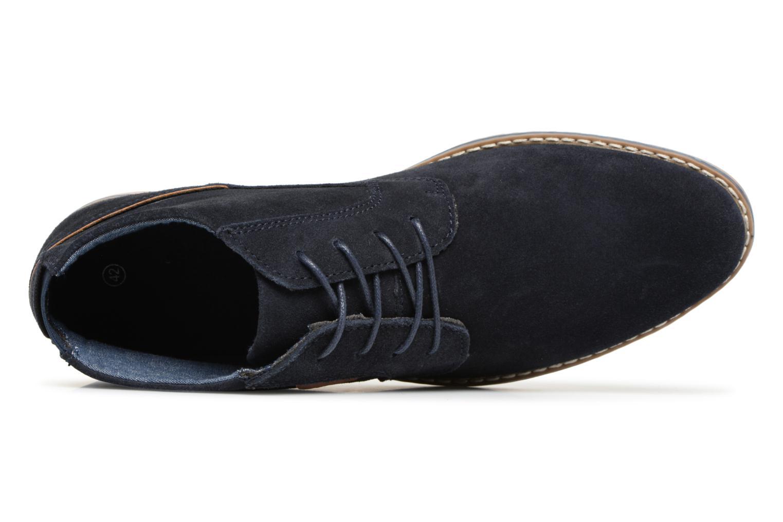 Bottines et boots I Love Shoes KERONI Leather Bleu vue gauche
