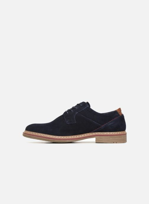 Snøresko I Love Shoes KEMOUNT Leather Blå se forfra