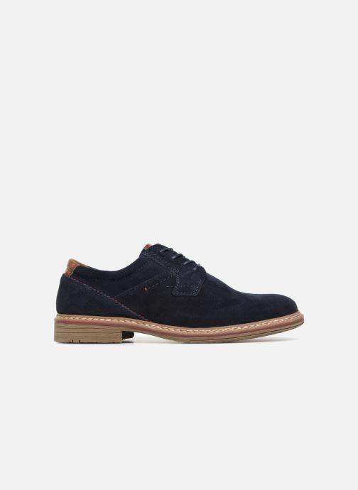 Snøresko I Love Shoes KEMOUNT Leather Blå se bagfra