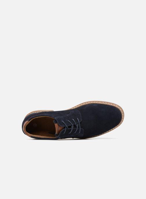 Zapatos con cordones I Love Shoes KEMOUNT Leather Azul vista lateral izquierda