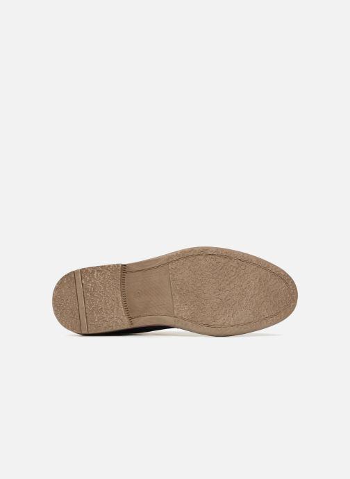 Chaussures à lacets I Love Shoes KEMOUNT Leather Bleu vue haut