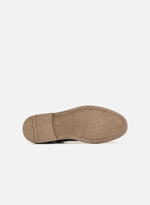Chaussures à lacets I Love Shoes KEMOUNT Leather Noir vue haut