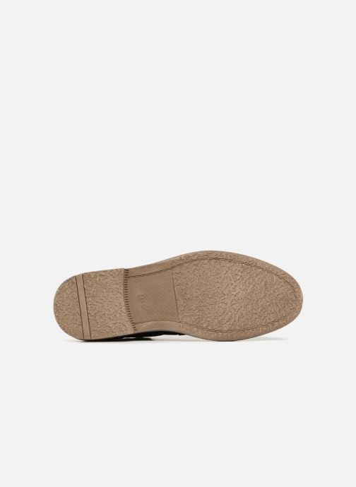 Zapatos con cordones I Love Shoes KEMOUNT Leather Negro vista de arriba
