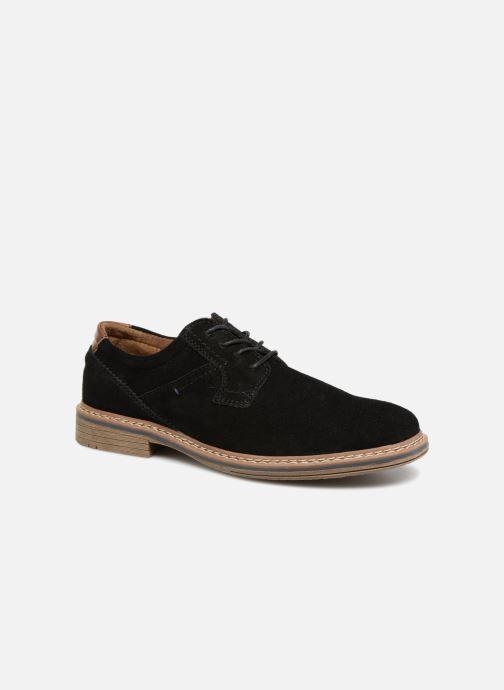 Chaussures à lacets I Love Shoes KEMOUNT Leather Noir vue détail/paire