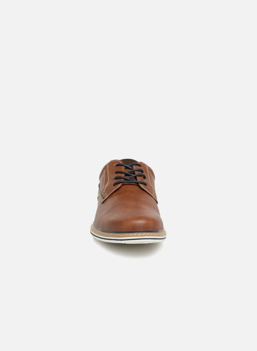 Veterschoenen I Love Shoes KEPAN Bruin model