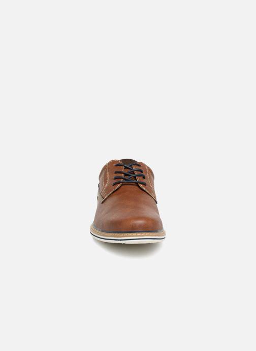 Chaussures à lacets I Love Shoes KEPAN Marron vue portées chaussures