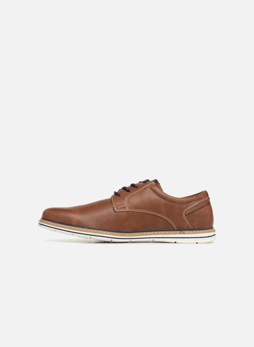 Veterschoenen I Love Shoes KEPAN Bruin voorkant
