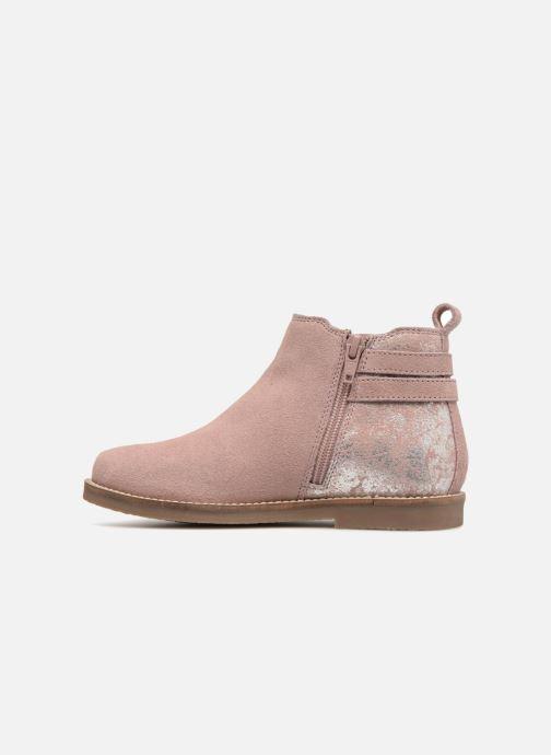 Boots en enkellaarsjes I Love Shoes KELINE 2 Leather Roze voorkant