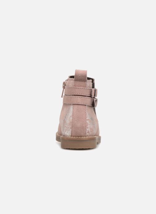 Ankle boots I Love Shoes KELINE 2 Leather Pink view from the right