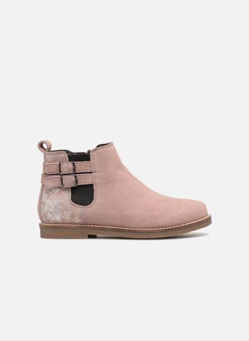 Ankle boots I Love Shoes KELINE 2 Leather Pink back view