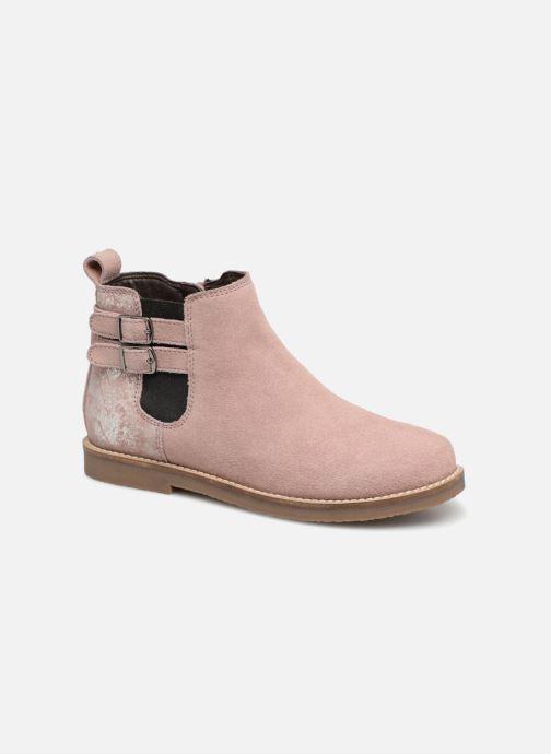 Boots en enkellaarsjes I Love Shoes KELINE 2 Leather Roze detail